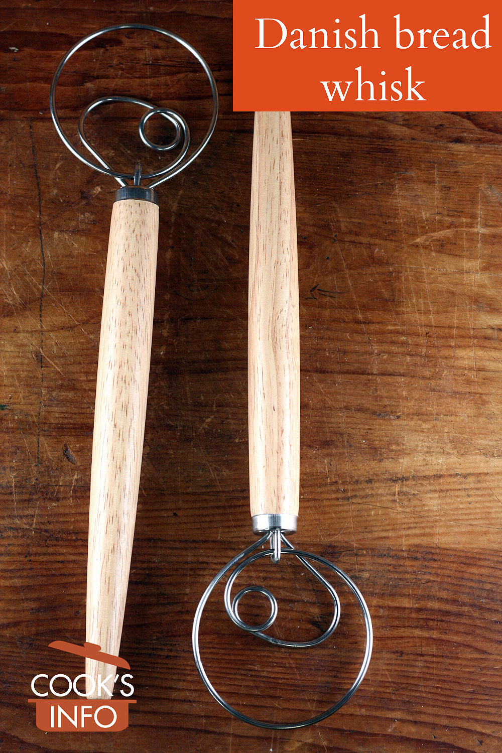 Danish bread whisk