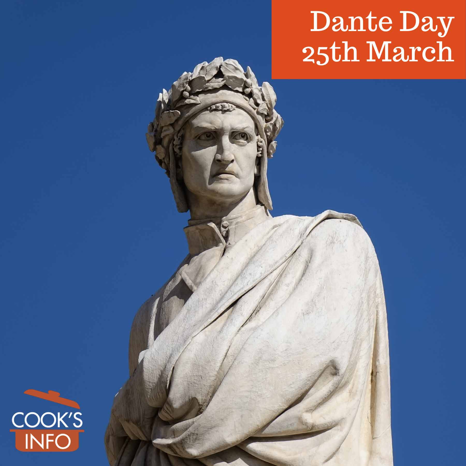 Statue of Dante in Florence