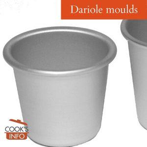 Dariole Moulds