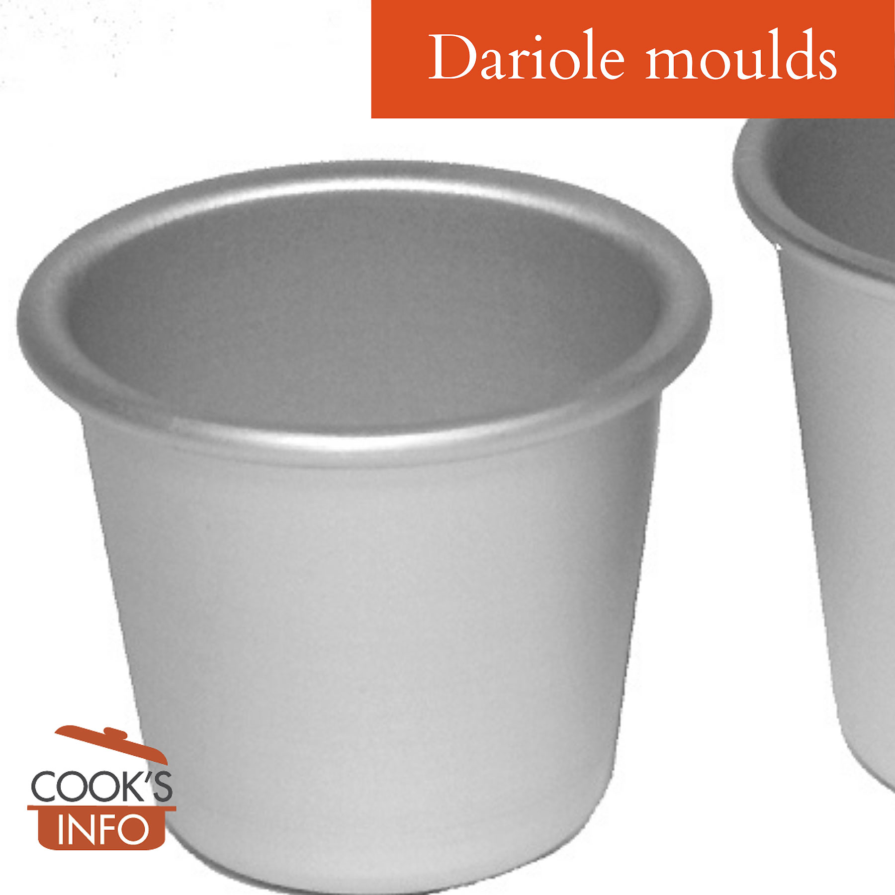 Dariole moulds