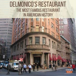Front of Delmonicos restaurant building in new york