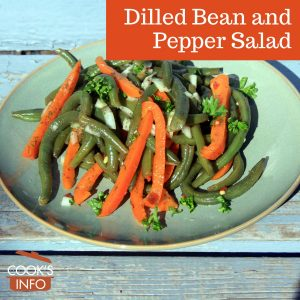 Dilled Bean and Pepper Salad