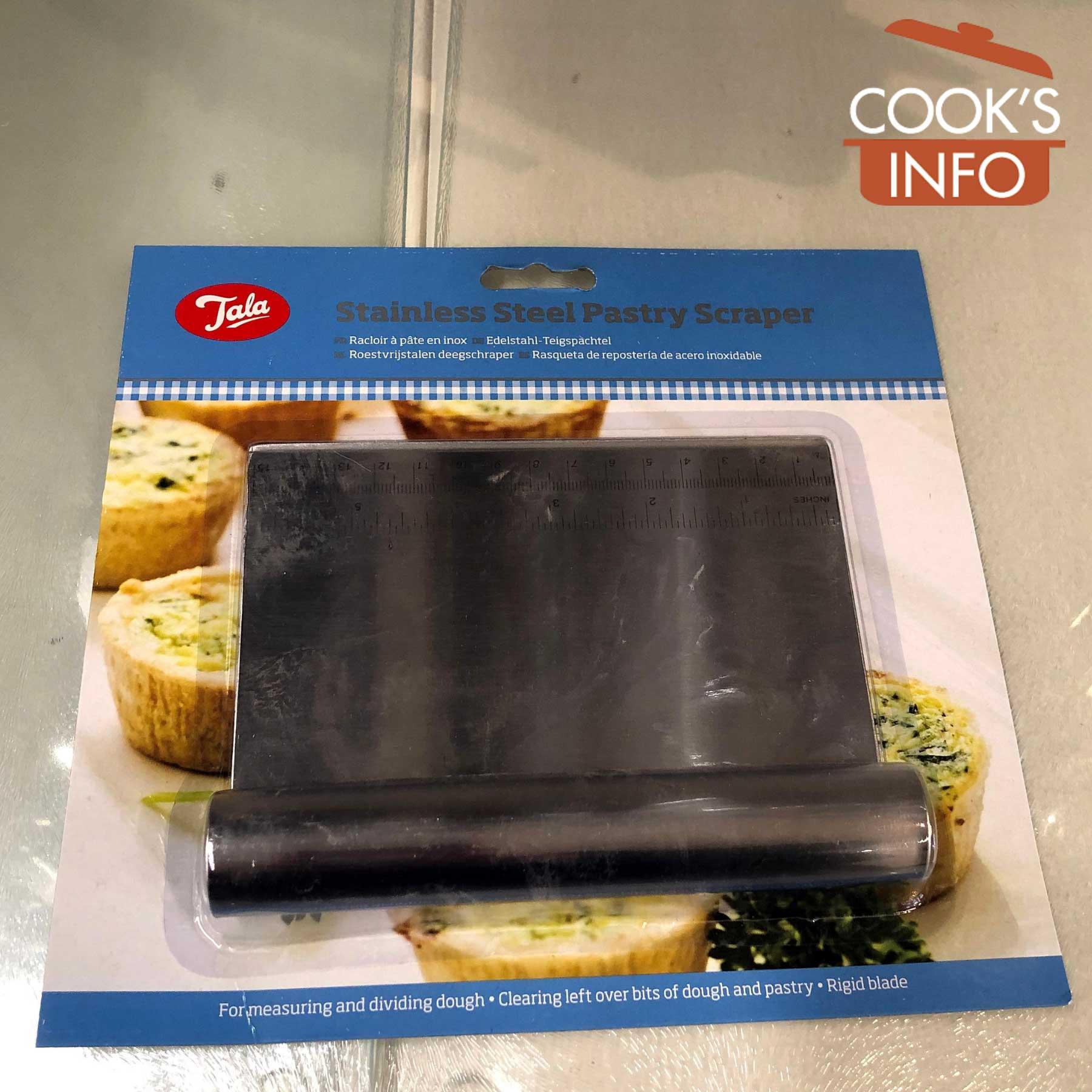 Dough scraper in packaging