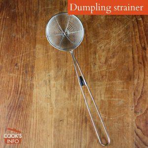 Dumpling Strainer