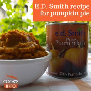 E.D. Smith Pumpkin Purée