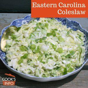 Eastern Carolina Coleslaw