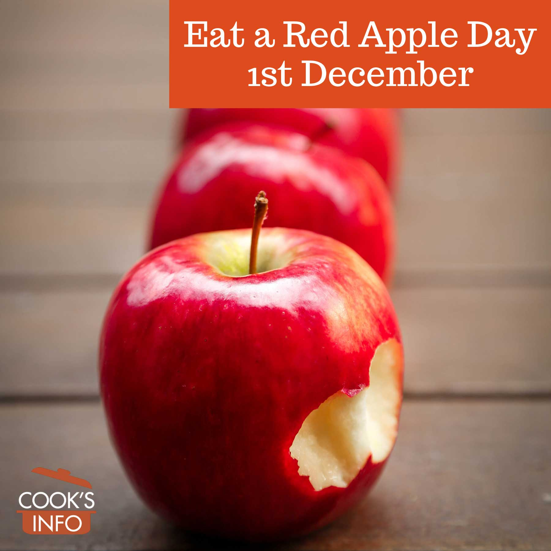 Eat a red apple day, 1st December