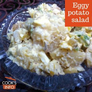 Eggy potato salad