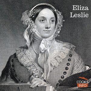 Eliza Leslie