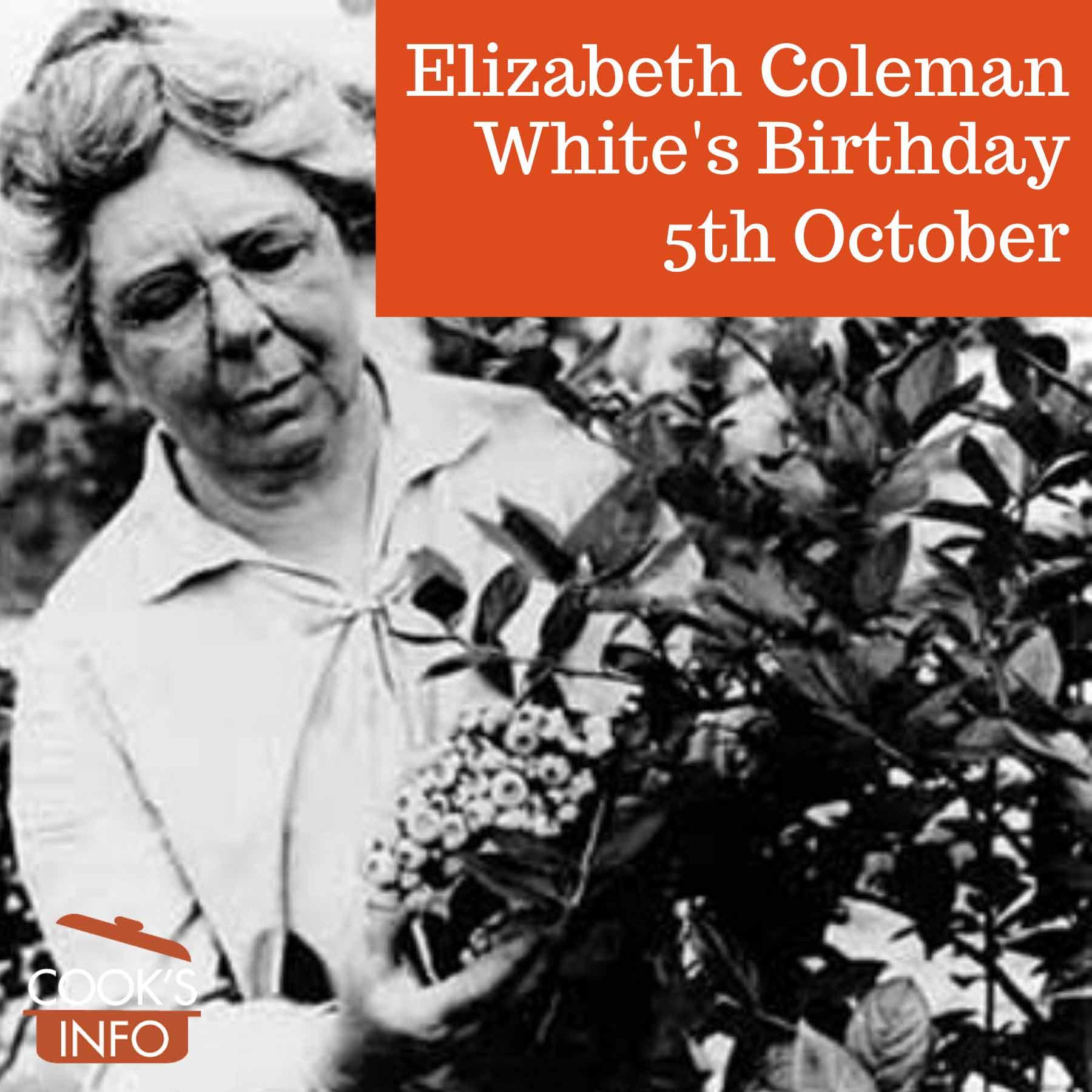 Elizabeth Coleman White, circa 1928