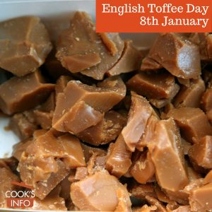 Thornston's English toffee