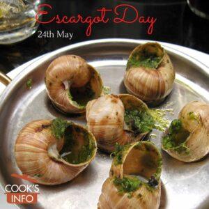 Escargot in garlic butter