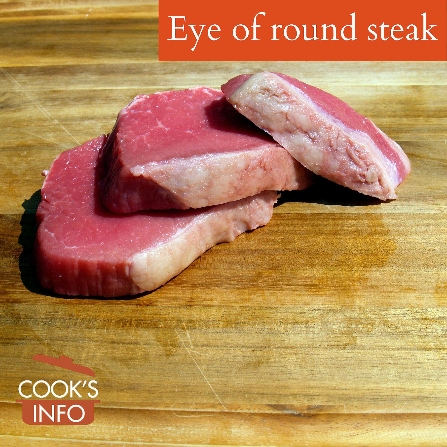 Eye of round steak