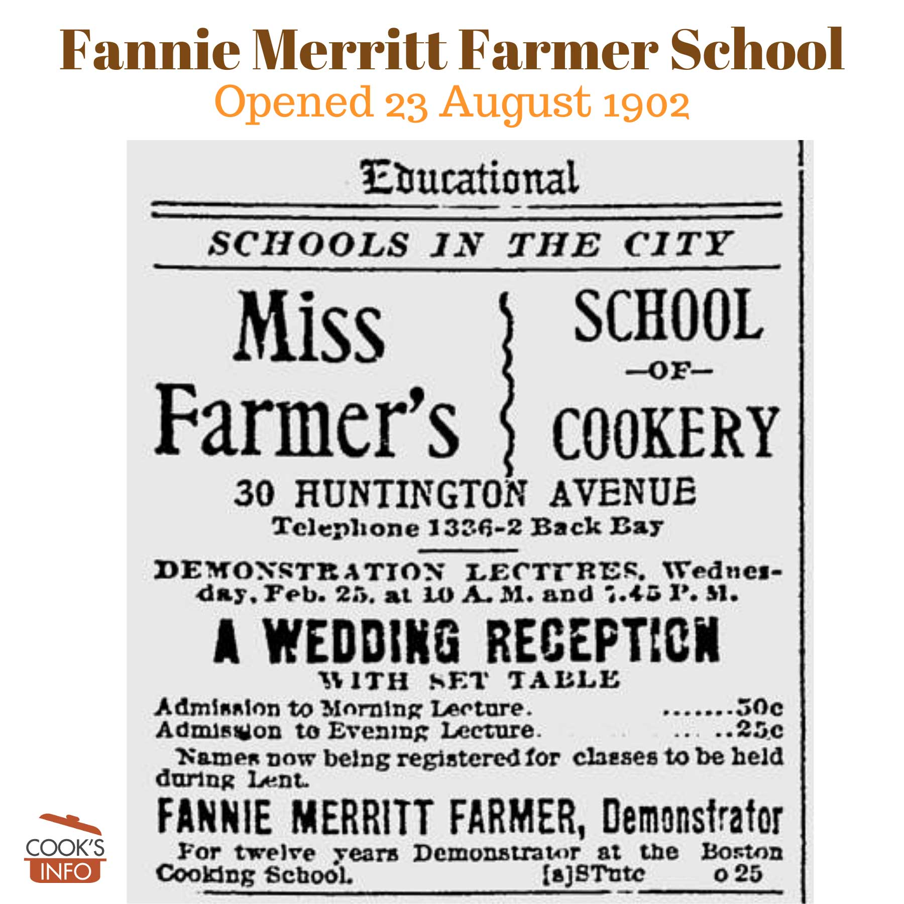 Fannie Merritt Farmer School