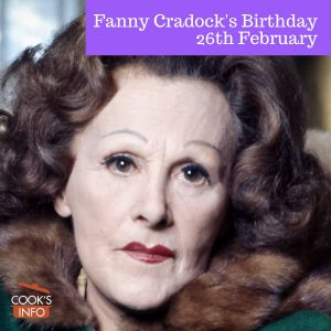 Fanny Cradock, 1976