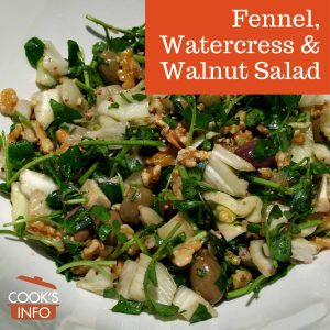 Fennel, Watercress & Walnut Salad