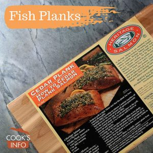 Fish Plank / Plank Cooking