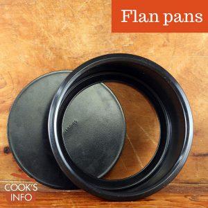 Flan pan