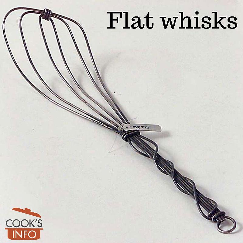 Flat whisk