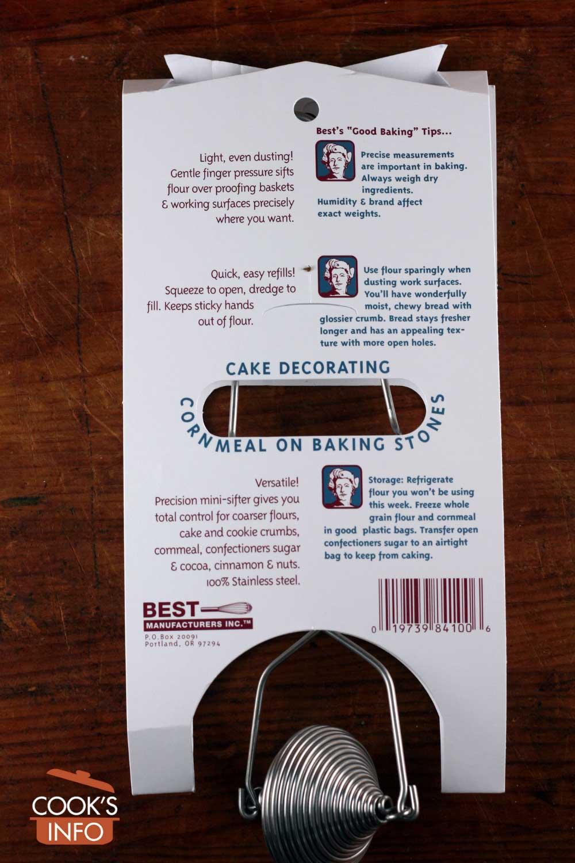 Flour duster package description