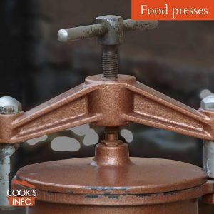 Food presses
