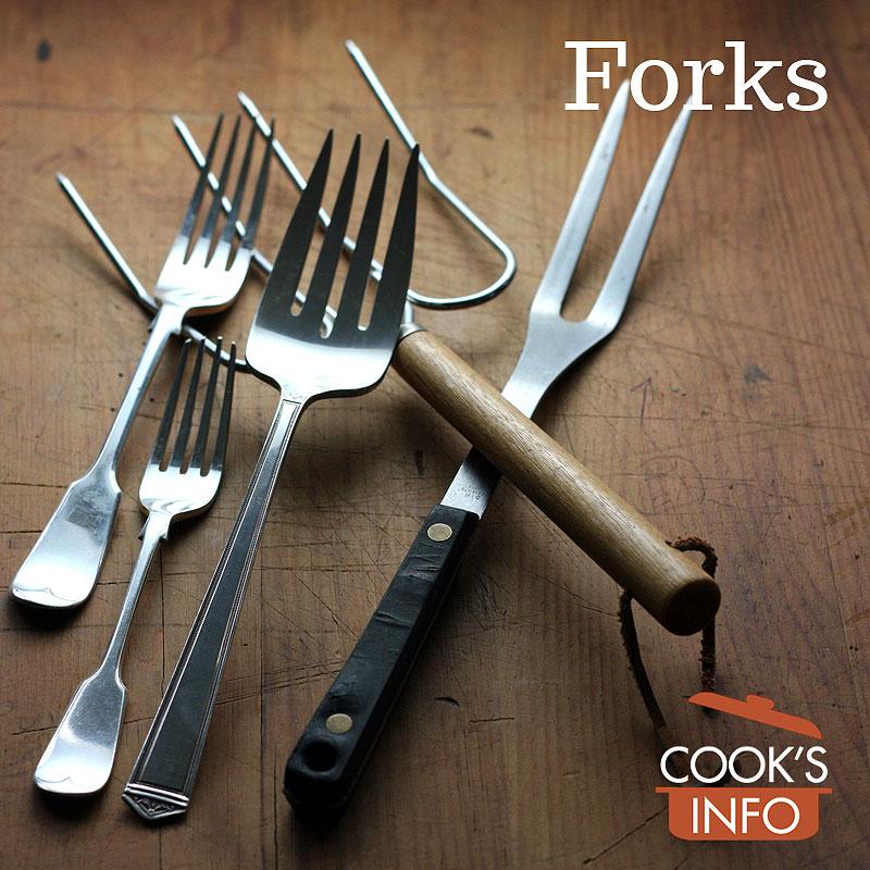 Prep, serving and eating forks