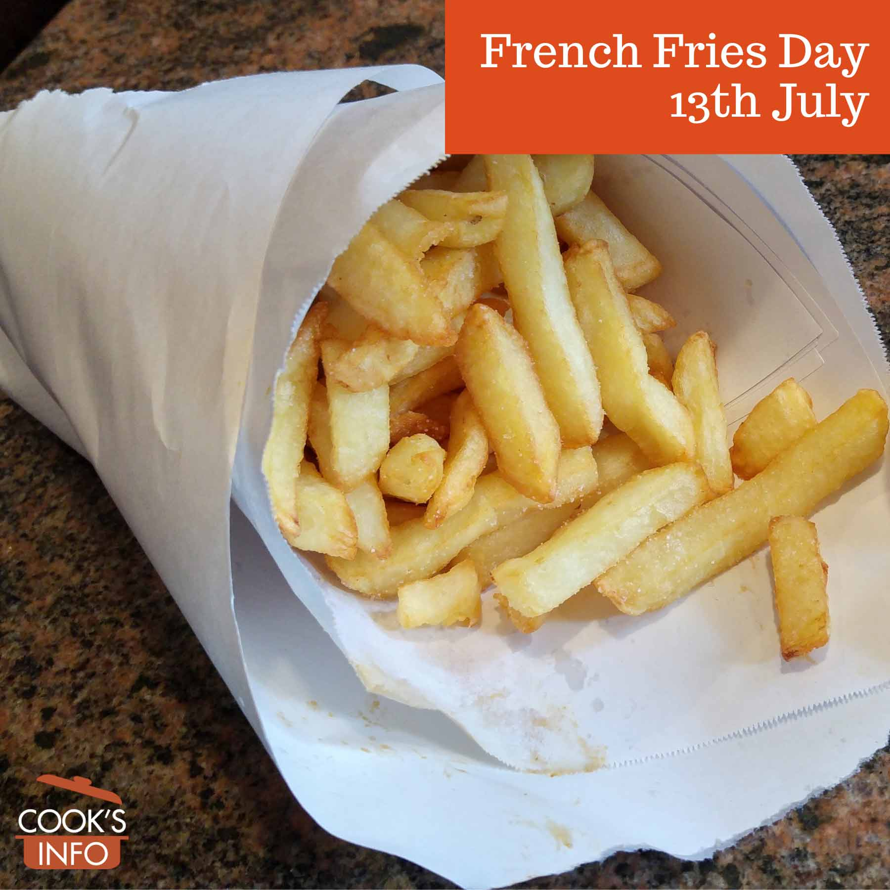 Belgian French fries.