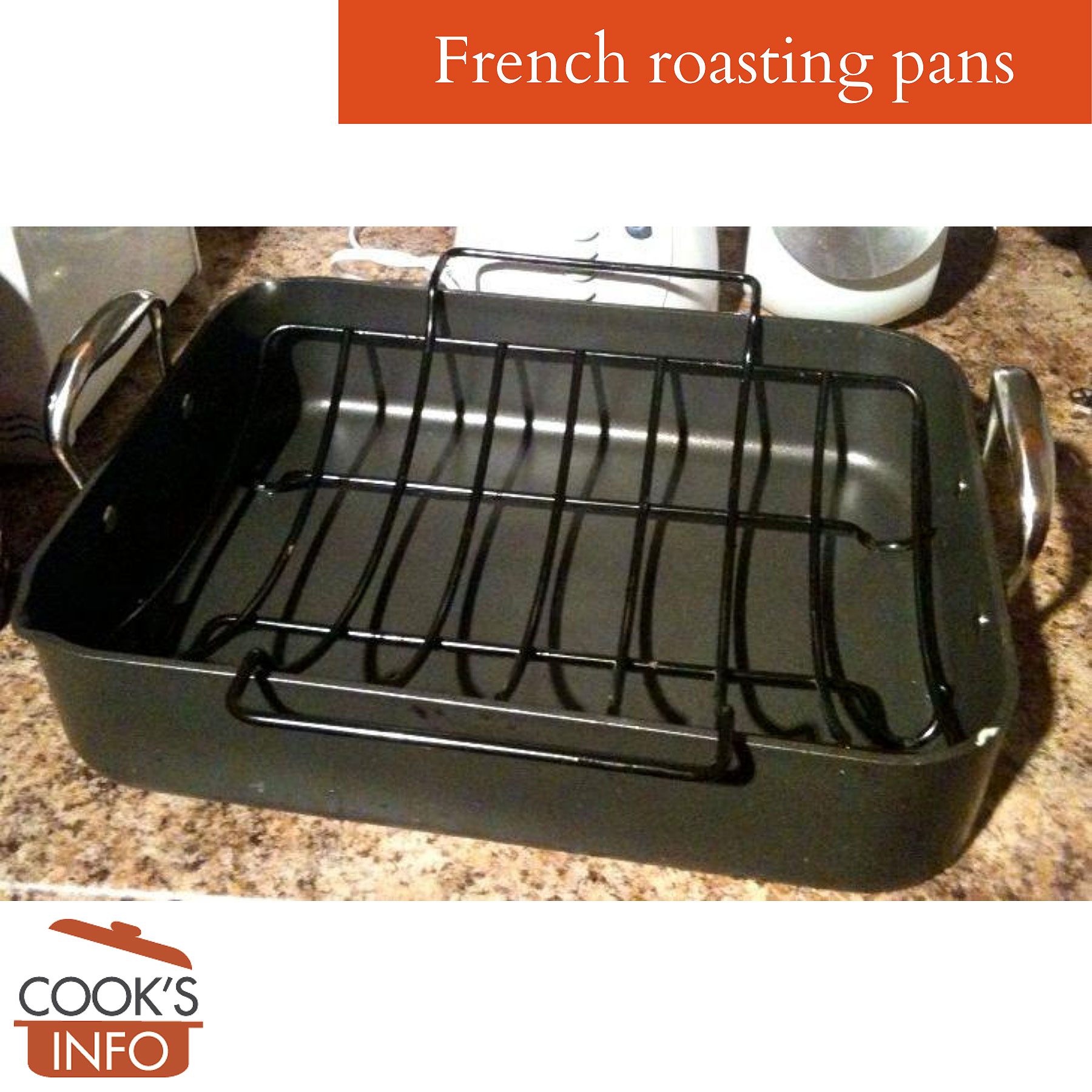 French roasting pan