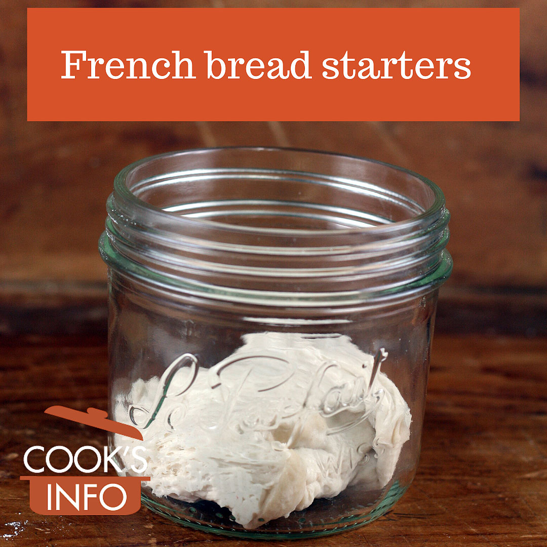 French bread starters