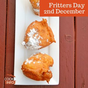 Fritters Day, 2nd December