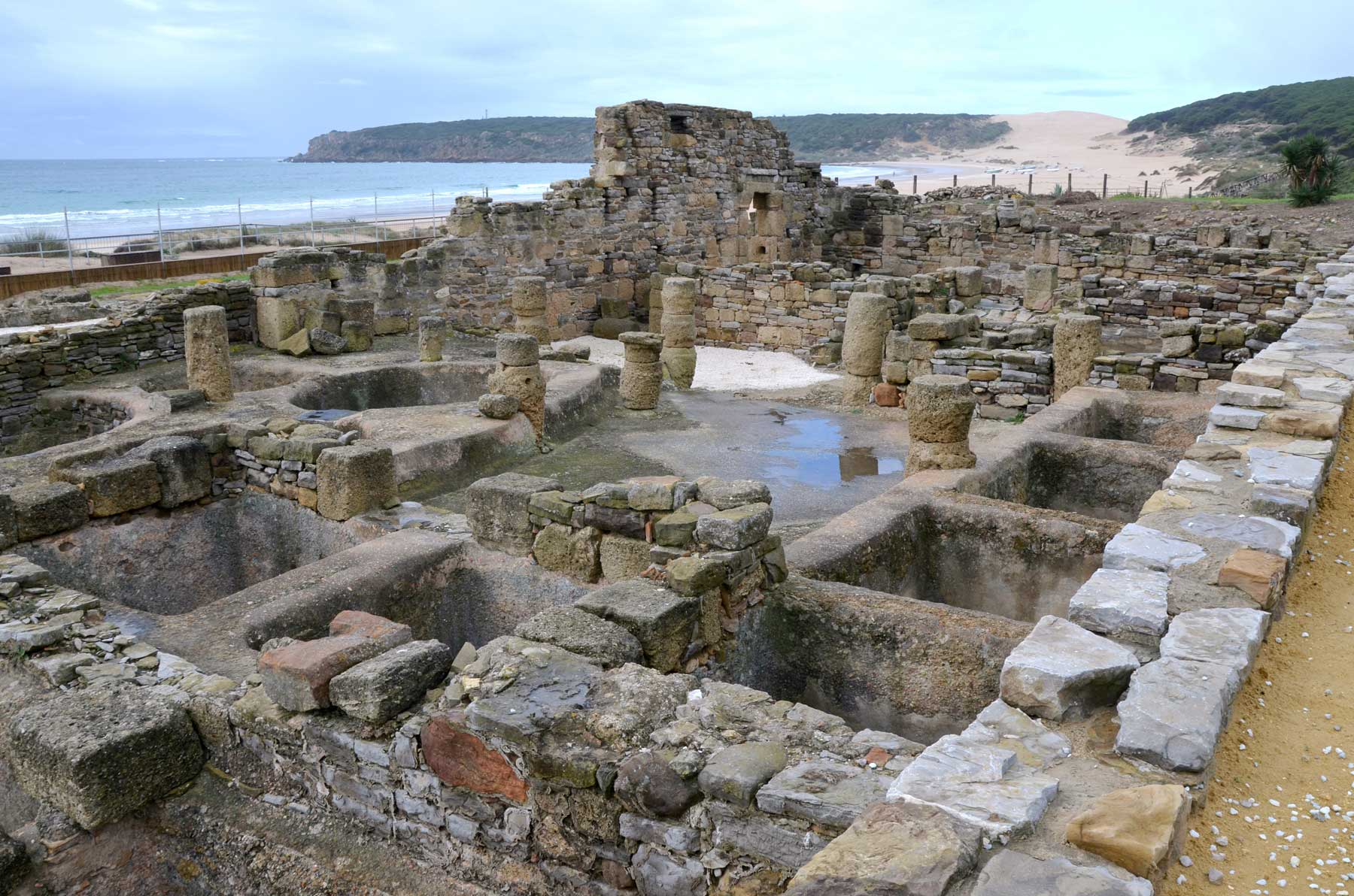 Garum factory at Baelo Claudia, Baetica, Spain