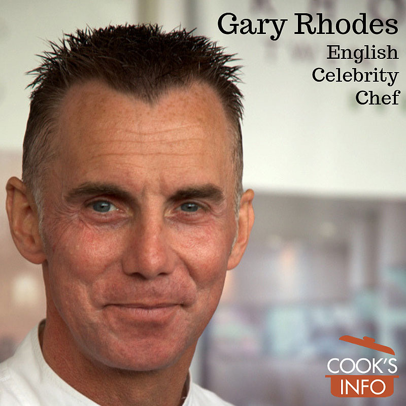 Gary Rhodes, Taste of London, 2009.