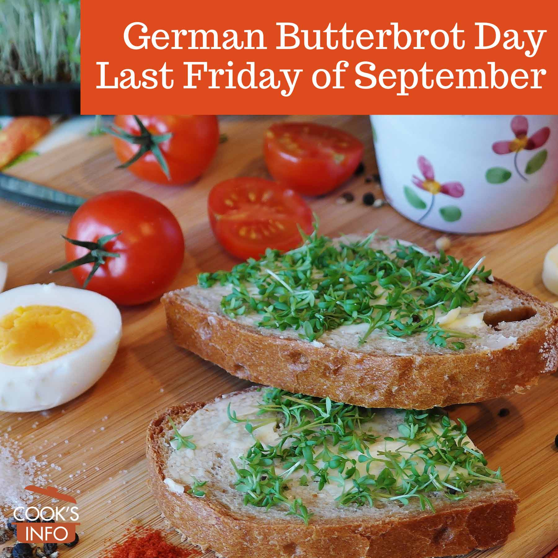 Butterbrot with cress