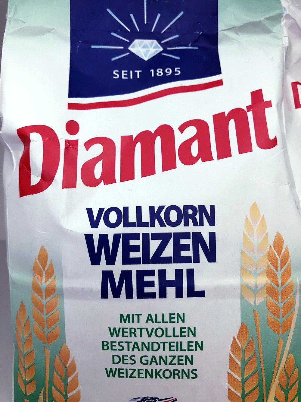 German whole wheat flour / Vollkorn