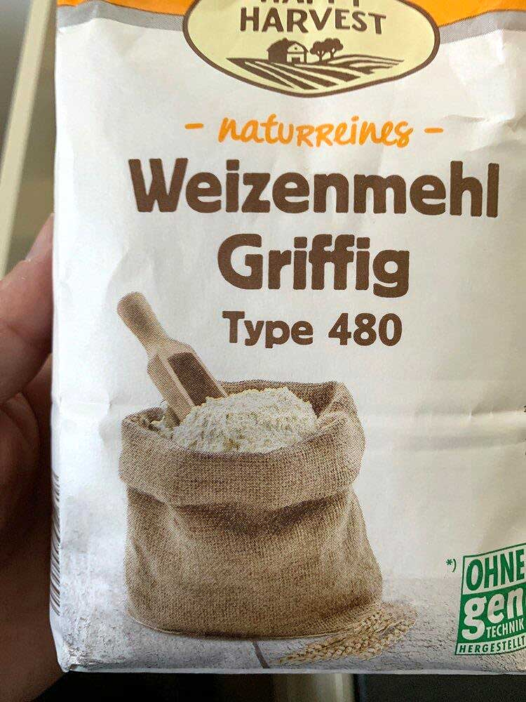 German gripping flour / Griffiges Mehl