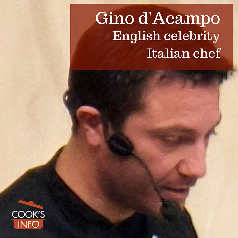 Gino D'Acampo in March 2012.