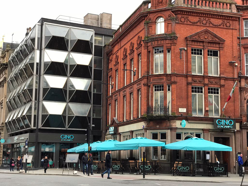 Gino d'Acampo restaurant in Liverpool