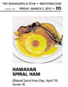 Glazed ham day 2012