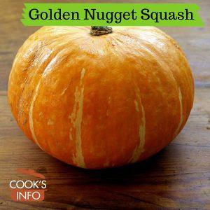 Golden Nugget Squash