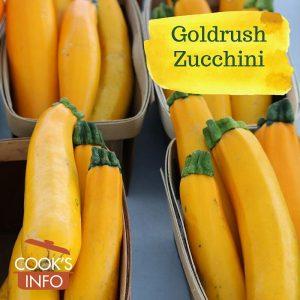 Goldrush Zucchini