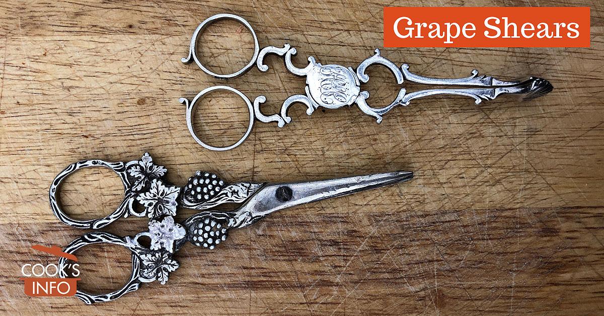 Grape Shears - CooksInfo