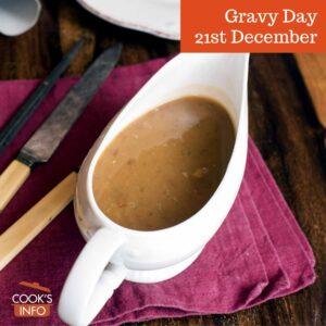 Gravy in gravy boat