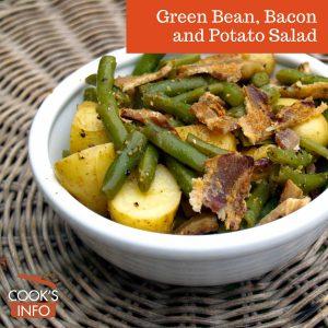 Green Bean, Bacon and Potato Salad