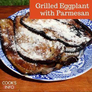 Grilled Eggplant with Parmesan
