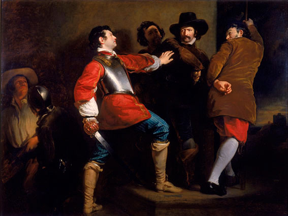 Guy Fawkes painting