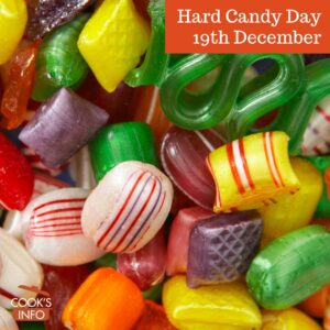 Hard candies in jars
