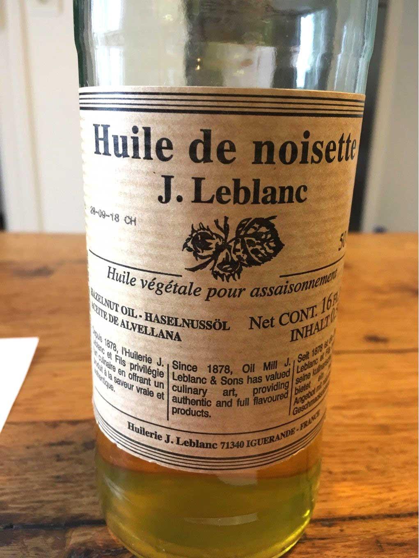 French olive oil, J. Leblanc brand.