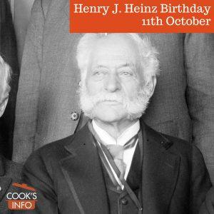 Henry John Heinz, 1917