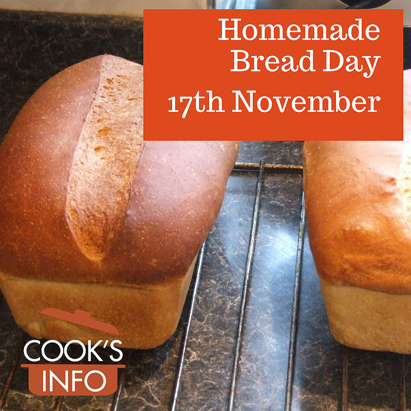Homemade bread loaves