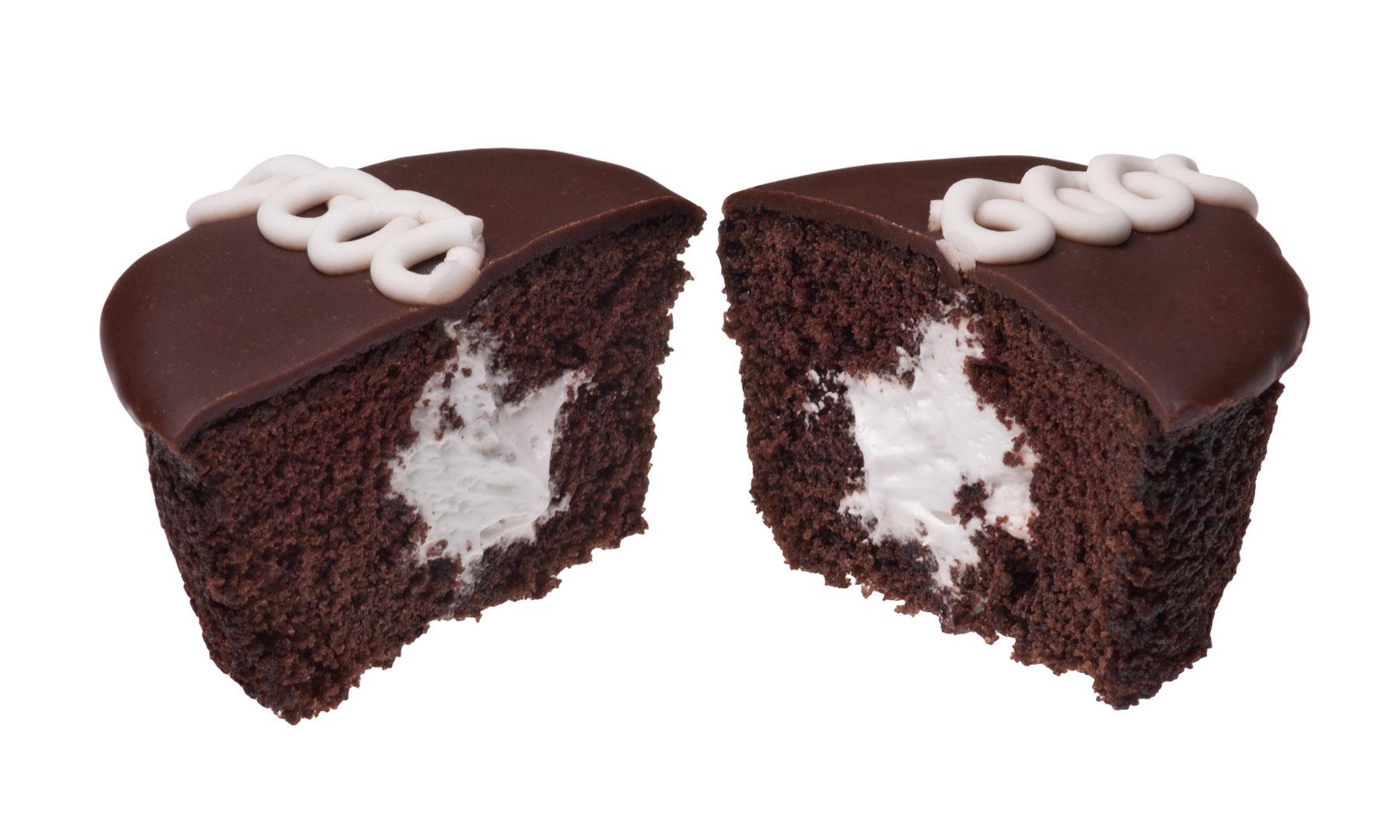 Hostess cupcake interior